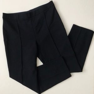 MaxMara Navy Blue Virgin Wool Dress Pant